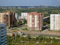 Новосибирск, улица Выборная, дом 125/2. многоквартирный дом
