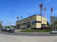 Новосибирск, улица Выборная, дом 56. офисное здание