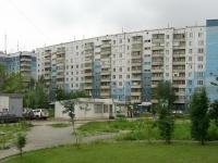 Новосибирск, улица Высоцкого, дом 13. многоквартирный дом