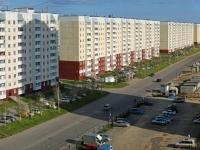 Новосибирск, улица Высоцкого, дом 38. многоквартирный дом
