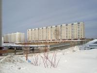 Новосибирск, улица Высоцкого, дом 42/3. многоквартирный дом