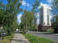 Новосибирск, улица Героев Революции, дом 37. многоквартирный дом