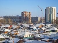 Новосибирск, улица Героев Революции, дом 66. многоквартирный дом