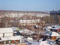 Novosibirsk, st Geroev Revolyutsii, house 68. school