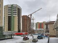 Новосибирск, улица Героев Революции, дом 27. многоквартирный дом