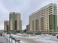 Новосибирск, улица Героев Революции, дом 31. многоквартирный дом
