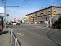 Novosibirsk, st Krylov, house 7. Apartment house