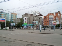 Novosibirsk, st Krylov, house 10А. Apartment house