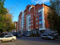 Novosibirsk, st Krylov, house 4. Apartment house