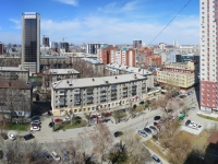 Novosibirsk, st Krylov, house 27. Apartment house
