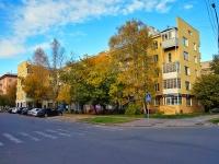 Novosibirsk, st Krylov, house 1. Apartment house