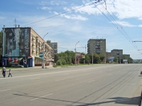 Novosibirsk, st Koshurnikov, house 5. Apartment house