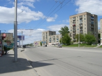 Novosibirsk, st Koshurnikov, house 11. Apartment house