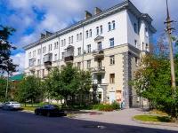 Новосибирск, улица Депутатская, дом 15А. многоквартирный дом