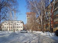 Novosibirsk, st Dmitry Donskoy, house 31. Apartment house