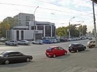 Новосибирск, улица Дуси Ковальчук, дом 2/2. офисное здание