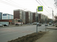 Новосибирск, улица Дуси Ковальчук, дом 18. многоквартирный дом