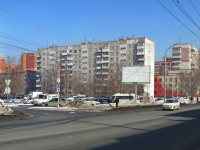 Новосибирск, улица Дуси Ковальчук, дом 5. многоквартирный дом