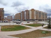 Новосибирск, улица Гребенщикова, дом 8. многоквартирный дом