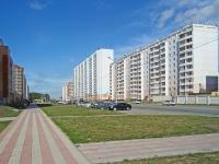 Новосибирск, улица Гребенщикова, дом 10. многоквартирный дом