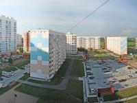 Новосибирск, улица Гребенщикова, дом 12/1. многоквартирный дом