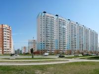 Новосибирск, улица Гребенщикова, дом 12. многоквартирный дом