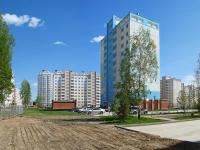 Новосибирск, улица Гребенщикова, дом 13/2. многоквартирный дом