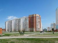 Новосибирск, улица Гребенщикова, дом 14. многоквартирный дом