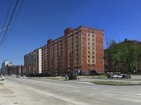 Новосибирск, улица Гребенщикова, дом 6. многоквартирный дом