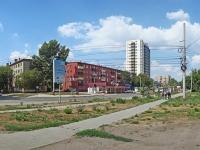 Новосибирск, улица Громова, дом 16. многоквартирный дом
