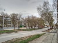 Новосибирск, улица Зорге, дом 2. техникум Новосибирский техникум общественного питания и сферы обслуживания