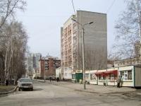 Новосибирск, улица Нижегородская, дом 17. многоквартирный дом