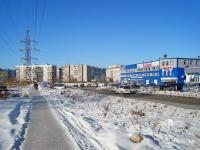 Новосибирск, улица Демакова, дом 23/5. офисное здание