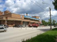 Новосибирск, улица Кутателадзе, дом 3. пожарная часть №8, 2 отряд ФПС по Новосибирской области