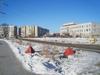 Novosibirsk, st Kutateladze, house 18. research institute