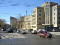Novosibirsk, st Derzhavin, house 3. office building
