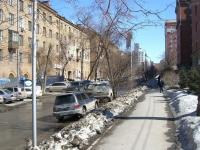 Новосибирск, улица Державина, дом 5. многоквартирный дом