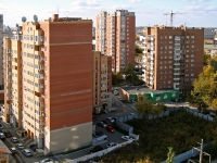 Novosibirsk, Derzhavin st, house 13. Apartment house