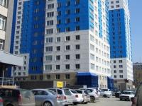 Новосибирск, улица Державина, дом 77. многоквартирный дом