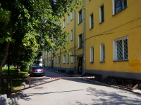 Новосибирск, улица Державина, дом 6. многоквартирный дом