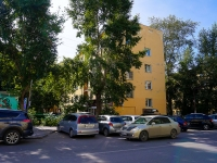 Novosibirsk, st Derzhavin, house 10. Apartment house