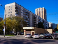 Novosibirsk, st Derzhavin, house 42. Apartment house