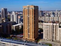 Новосибирск, улица Державина, дом 49. многоквартирный дом