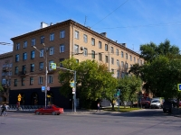 Novosibirsk, st Derzhavin, house 5. Apartment house