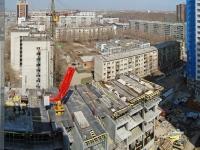 Novosibirsk, st Ermak, house 85. Apartment house