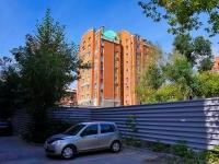 Novosibirsk, st Ermak, house 4. Apartment house