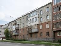 Новосибирск, улица Есенина, дом 7. многоквартирный дом