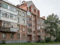 Новосибирск, улица Есенина, дом 7А. многоквартирный дом