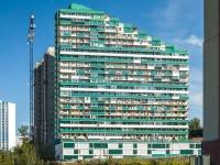 Новосибирск, улица Есенина, дом 12/2. многоквартирный дом