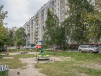 Новосибирск, улица Есенина, дом 10. многоквартирный дом